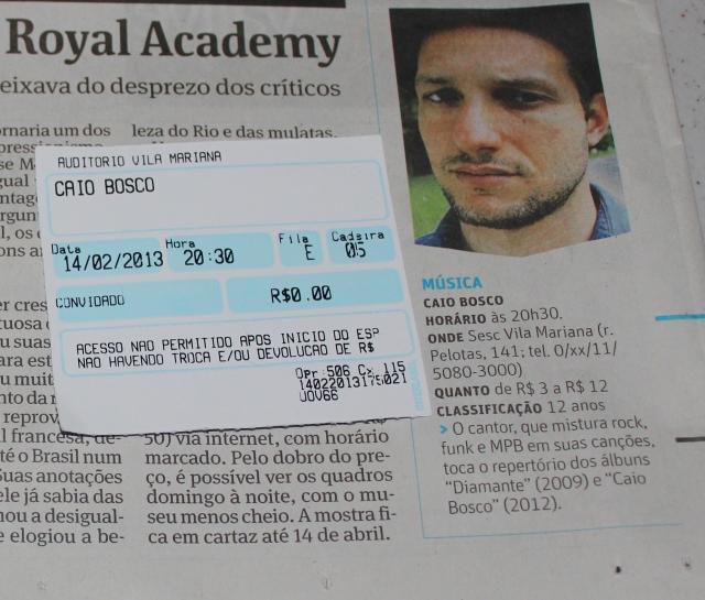Folha de São Paulo 14-02-2013